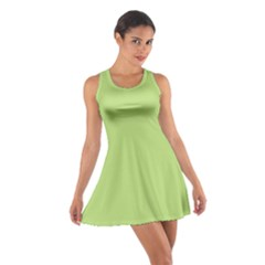 Grassy Green Cotton Racerback Dress
