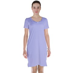 Violet Sweater Short Sleeve Nightdress