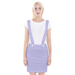 Violet Sweater Braces Suspender Skirt