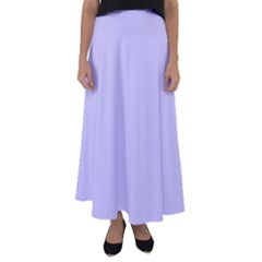 Violet Sweater Flared Maxi Skirt