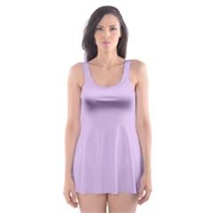 Lilac Morning Skater Dress Swimsuit