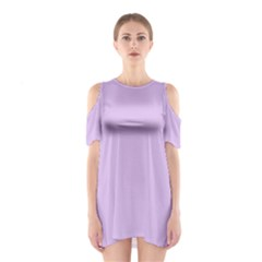 Lilac Morning Shoulder Cutout One Piece
