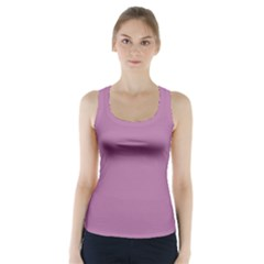 Silly Purple Racer Back Sports Top