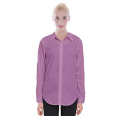 Silly Purple Womens Long Sleeve Shirt