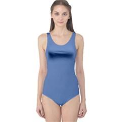 Greyish Ocean One Piece Swimsuit