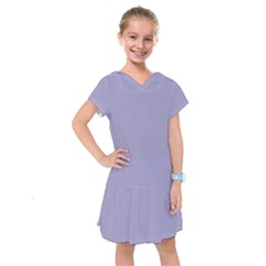 Grey Violet Kids  Drop Waist Dress