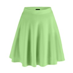 Meadow Green High Waist Skirt