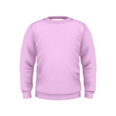 Soft Pink Kids  Sweatshirt