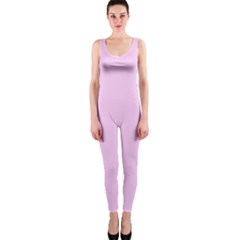 Soft Pink Onepiece Catsuit