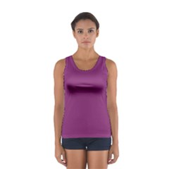 Grape Purple Sport Tank Top