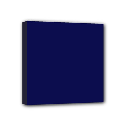 Dark Navy Mini Canvas 4  X 4