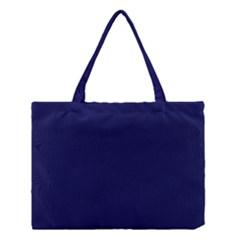 Dark Navy Medium Tote Bag