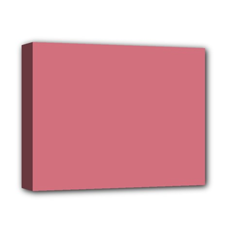 Pink Mauve Deluxe Canvas 14  X 11