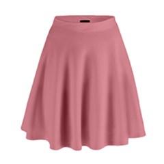 Pink Mauve High Waist Skirt