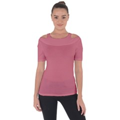 Pink Mauve Short Sleeve Top