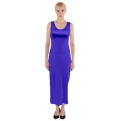 Royalty Fitted Maxi Dress
