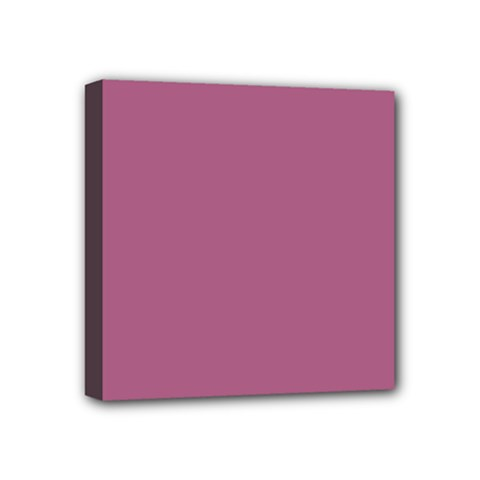 Rose Grey Mini Canvas 4  X 4