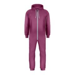Rose Grey Hooded Jumpsuit (kids)