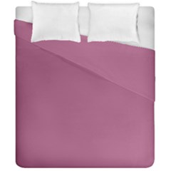Rose Grey Duvet Cover Double Side (california King Size)