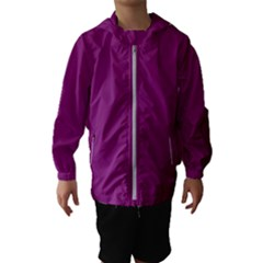 Grape Juice Hooded Wind Breaker (kids)