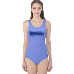 Lake Blue One Piece Swimsuit