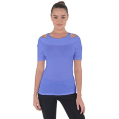 Lake Blue Short Sleeve Top