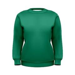 Teal Ocean Women s Sweatshirt
