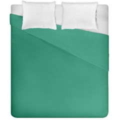Teal Ocean Duvet Cover Double Side (california King Size)