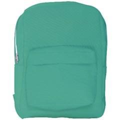 Teal Ocean Full Print Backpack