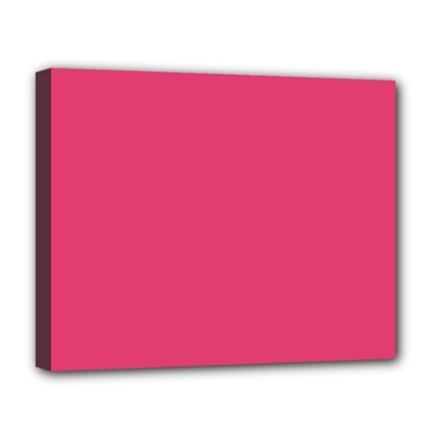 Rosey Day Deluxe Canvas 20  X 16