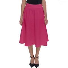 Rosey Day Perfect Length Midi Skirt