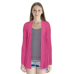 Rosey Day Drape Collar Cardigan