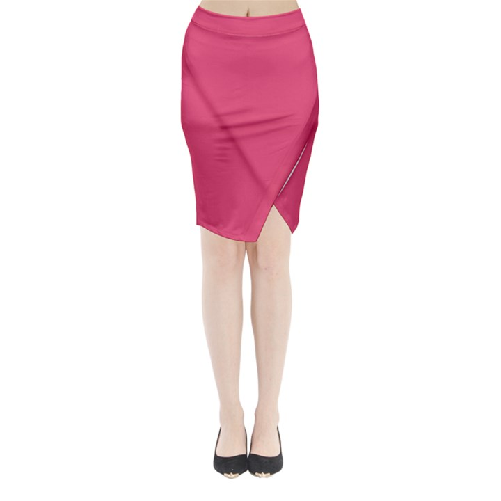 Rosey Day Midi Wrap Pencil Skirt