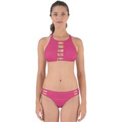 Rosey Day Perfectly Cut Out Bikini Set