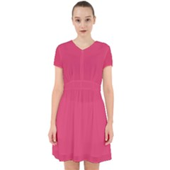 Rosey Day Adorable In Chiffon Dress