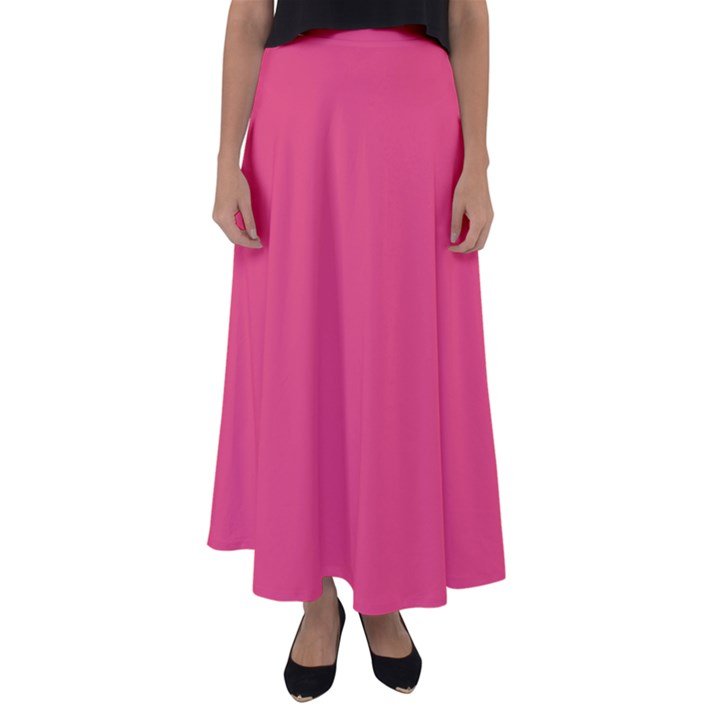 Rosey Day Flared Maxi Skirt