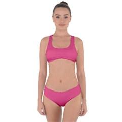 Rosey Day Criss Cross Bikini Set