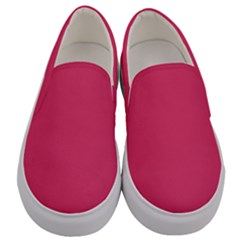 Rosey Day Men s Canvas Slip Ons