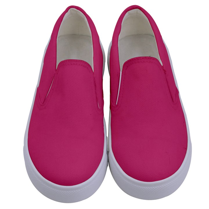 Rosey Day Kids  Canvas Slip Ons