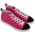 Rosey Day Men s Mid-Top Canvas Sneakers View3