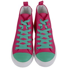Rosey Day Women s Mid Top Canvas Sneakers