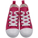 Rosey Day Kid s Mid-Top Canvas Sneakers View1