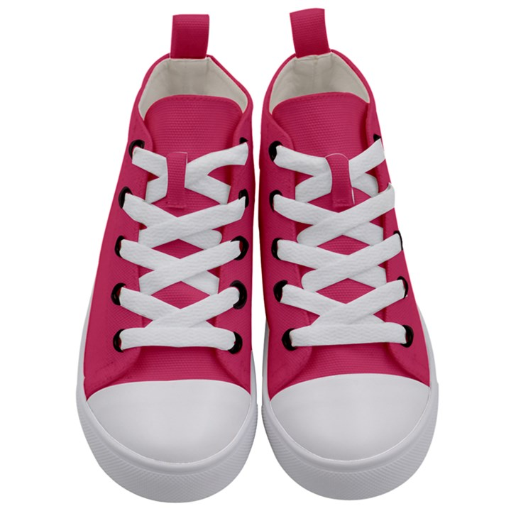 Rosey Day Kid s Mid-Top Canvas Sneakers