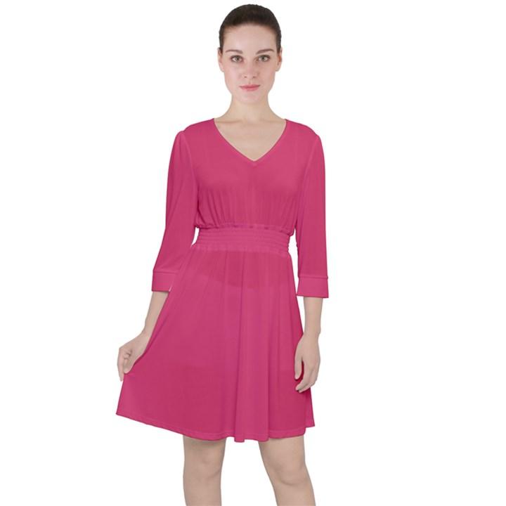 Rosey Day Ruffle Dress