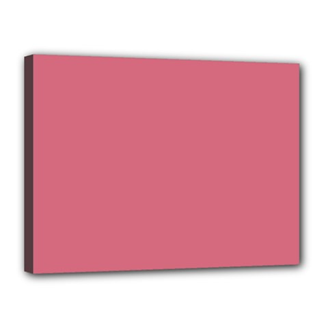 Rosey Canvas 16  X 12