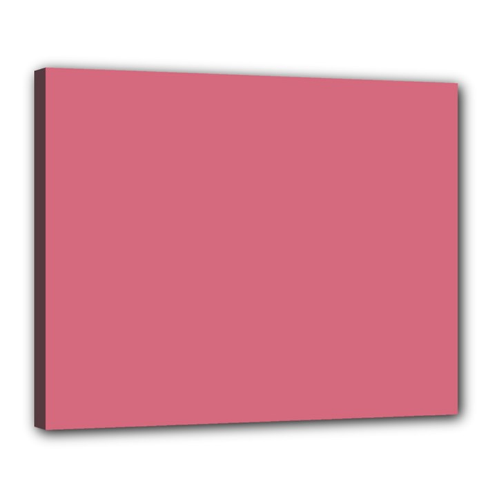 Rosey Canvas 20  x 16