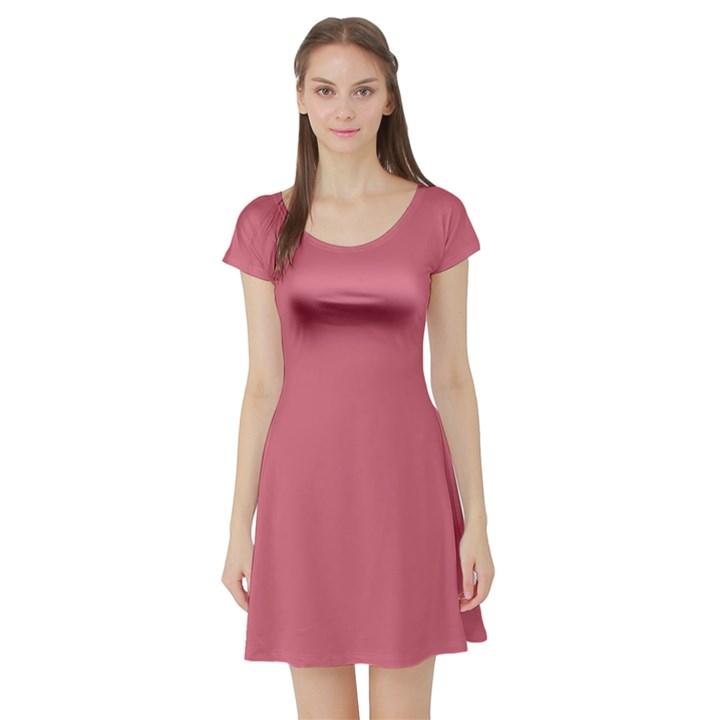 Rosey Short Sleeve Skater Dress