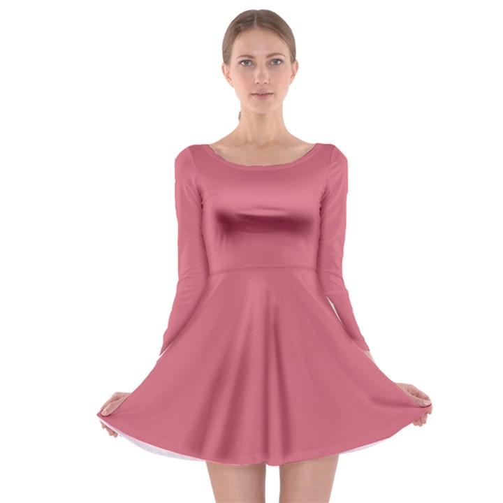 Rosey Long Sleeve Skater Dress