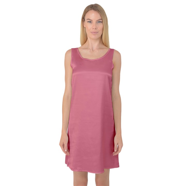 Rosey Sleeveless Satin Nightdress