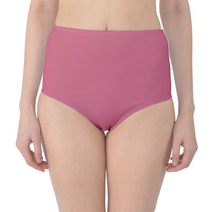 Rosey High-Waist Bikini Bottoms
